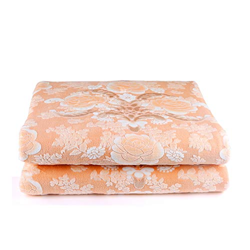 EARJE Electric blanket Double Safety Home waterproof soft Comfortable Fabric Heat evenly Overheat Protection System