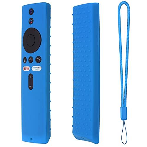 Huhudde Capa de controle remoto de silicone para ~Xiaomi Mi Box S/4X Mi Remote TV Stick Cover