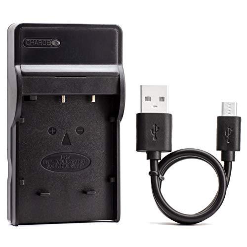 D-LI8 USB Cargador para Pentax Optio A10, Optio A20, Optio A30, Optio...