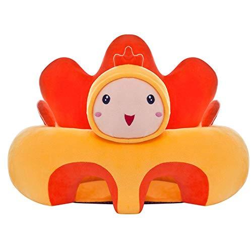 Bloomma Cartone Animato per Neonati Seggiolone per sedie, Morbido seggiolino per Bambini, Sedia da Pranzo Portatile con seggiolino per Giocattoli