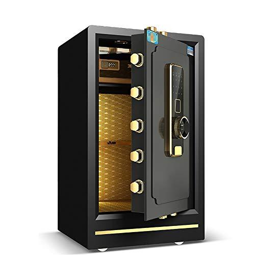 Caja Fuerte de Gabinete Caja fuerte for el hogar de acero de seguridad, biométrico de huellas dactilares caja de la cerradura gabinetes de acero sólido de seguridad digital Fuerte Para el Negocio en c
