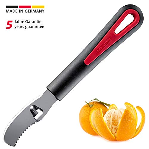 Westmark Orangenschäler mit Kanneliermesser, 19 x 2,7 cm, Edelstahlklinge, Gallant, Kunststoff, 29342270