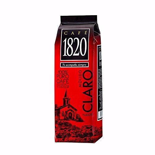 Cafe 1820 Tueste Claro | Light Roast - Costa Rica Ground Coffee 8.8 OZ - 250 Grams