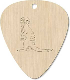 7 x 'Meerkat Pup' Guitar Picks / Pendants (GP00023524)