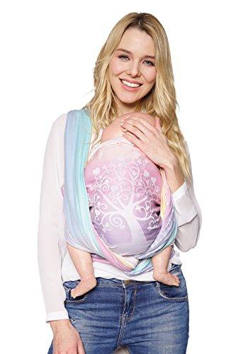 KOKADI® Écharpe porte-bébé Marie au pays des merveilles (taille 6-4,60 m)