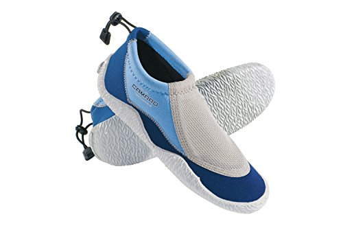 Camaro Air-Mesh Schuhe Coral Sea Slipper Neopren, Blau, 40/41