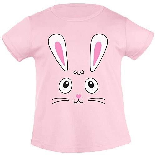 Idea Regalo di Pasqua tenero Coniglietto Pasquale T-Shirt Maglietta Bambina 5-6 Anni (106/116cm) Rosa
