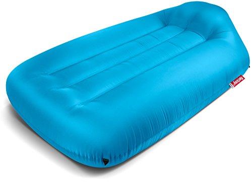 Fatboy® Lamzac L Aqua | Aufblasbares Sofa/Liege, Sitzsack mit Luft gefüllt | Outdoor geeignet | 190 x 105 x 45 cm