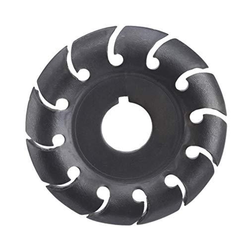 ZYYXB Disco de tallado de madera para amoladora angular de 16 dientes de potencia de 65 mm de disco de conformación de madera para amoladora de ángulo