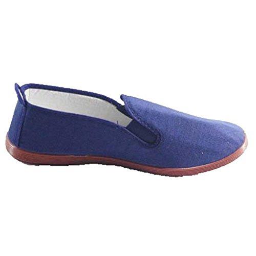 Zapatillas para Taichi kunfú y Yoga Irabia en Azul Marino Talla 35
