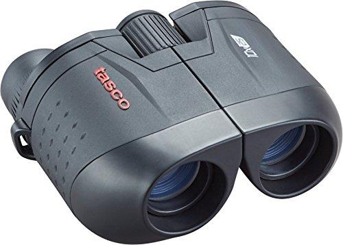 TASCO ES10X25 Essentials Binoculars, 10x25mm Porro Prism, Black, Boxed