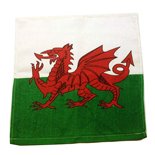 Wales Welsh Flag Face flanellen doek