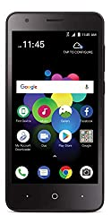 commercial ZTE Blade T2 Lite Prepaid 4G LTE Smartphone with TracFone Carrier Lock – Black – 16 GB – Sim Card… cell phone trac