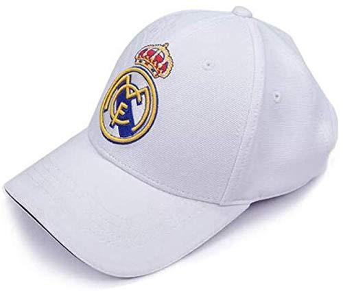 Gorra de Beisbol Sombrero World Football Club Hat Real Football Team Logo Ajustable Hat Customized for Fans-D