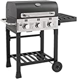 fuego Barbecue à gaz Ontario Gas 3 brûleurs de EL Grill Barbecue Barbecue à gaz Barbecue AY 539