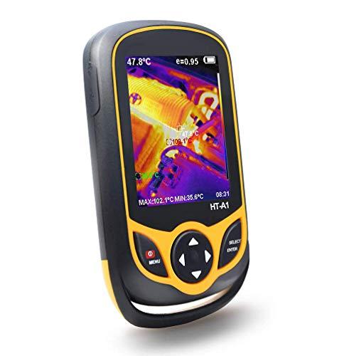 GJNVBDZSF Wärmebildkamera für Bildgebungskameras, Handheld-Wärmebildkamera für die Industrie Taschenbild-Wärmebildkamera Bildschirmanzeige Echtzeit-Thermografie