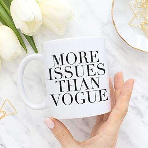 Not Applicable Más Problemas Que Vogue, Taza de café, Taza de té,...