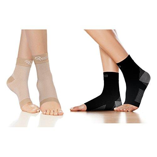 RYACO Kompressionsstrümpfe für Männer & Frauen - Fersensporn Bandage Fußbandage