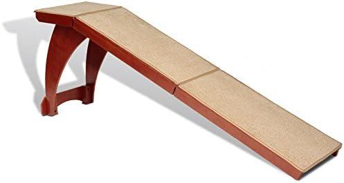 Petsafe Cozyup Bettrampe Robuster Holzrahmen Unterstützt Bis Zu 54 4 Kg Möbelqualität Haustierrampe Aus Holz Mit Weißem Finish Hohe Trittfläche Ideal Für ältere Hunde Und Katzen Haustier