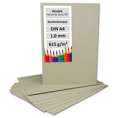 Libro Binder cartón DIN A4, grosor 1mm, gramaje: 615g/m² | Formato: 29,7x 21cm
