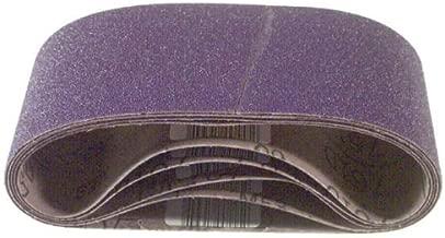 3M 81429 Regalite Resin Bond 50 Grit Cloth Sanding Belt, 4 x 24