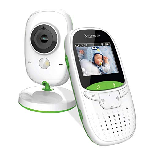 SereneLife USA Video Baby Monitor - Upgraded 850' Wireless Long Range Camera,...