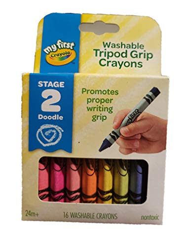 Crayola My First Triangular Crayons 16ct