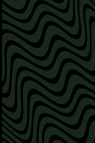 Minimal Camo Swirl Pattern Notebook Blank Lined Journal