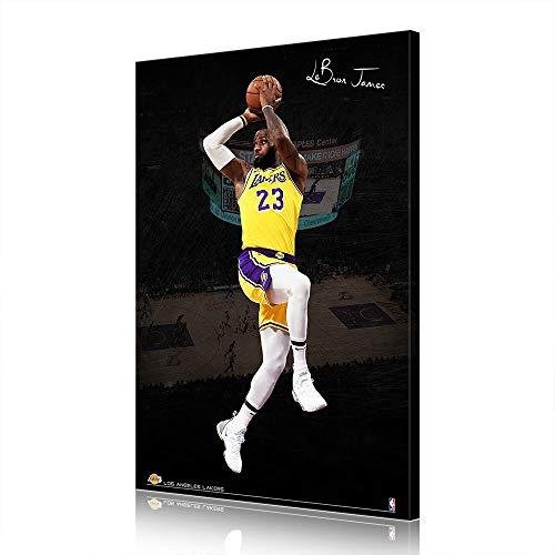 NBA Cleveland Cavaliers Lebron James Canvas Prints Poster Picture New Home Decor Men's Cave Gift (prints10,50X70cm)