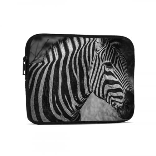 Funda de transporte para iPad Pro de 7,9 y 9,7 pulgadas, resistente al agua, con cremallera de neopreno, con correa de asa