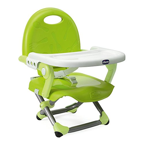 Chicco Sitzerhöhung Pocket Snack Farbe Lime–höhenverstellbar