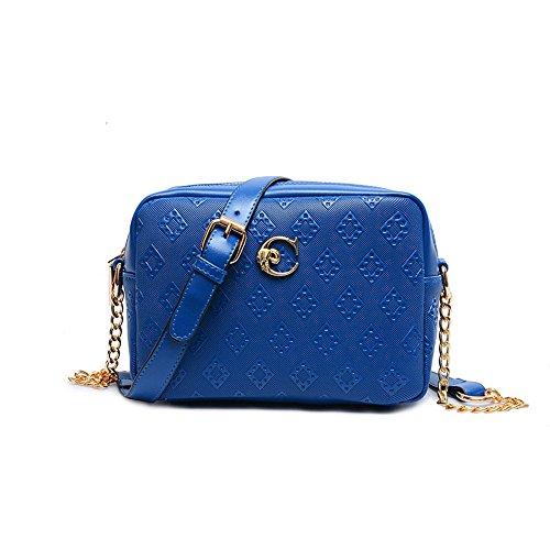 Jecxep , Borsa Messenger Multicolore blu