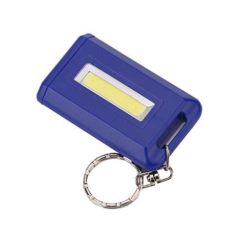 Mini porte-clés portable 4 couleurs avec lampe torche LED COB à mode unique 300 lm