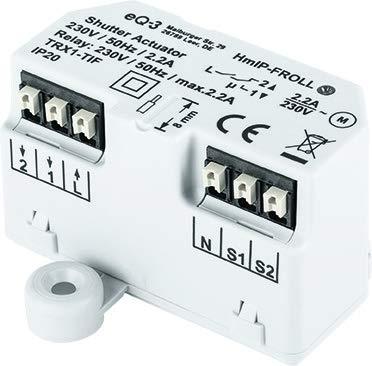 ELV Homematic IP Komplettbausatz Rollladenaktor Unterputz HmIP-FROLL, für Smart Home/Hausautomation