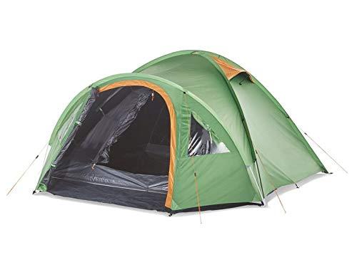 Crivit Sports Iglu dubbeldaktent campingtent voor 4 personen camping tent verduisterend waterkolom 3000 mm