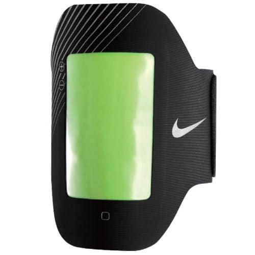 Nike Elite Prime Performance Arm Band Nero/Verde Fluo/Grigio