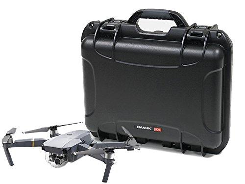 Nanuk Estojo rígido à prova d'água DJI Drone com inserção de espuma personalizada para DJI Mavic Pro - Preto
