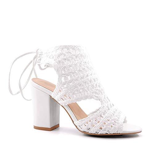 Angkorly - Chaussure Mode Sandale Mule Mariage...