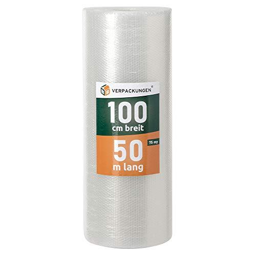 BB-Verpackungen Rotolo di pluriball, 1 x 50 m - spessore: 60 my, pellicola per imballaggi e protezione