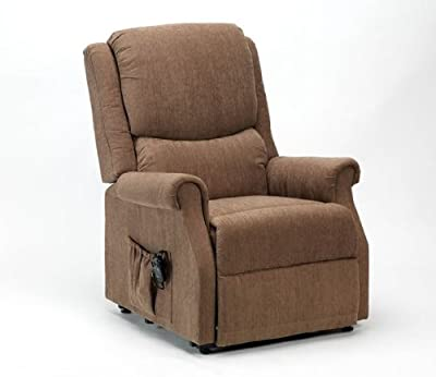 Indiana Rise & Recline Chair in Mushroom by Drive Medical