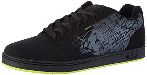 Etnies Metal Mulisha Barge XL, Chaussures de Skateboard Homme, Noir (Black/Lime 895), 37.5 EU