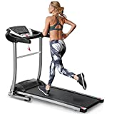 EAHOME Folding Treadmill Electric Treadmill Motorized Running Machine Easy Assembly Electric Treadmills for Home, 12 Programs with Speakers