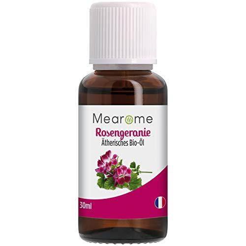 Rosengeranienöl BIO⎟Rosengeranie Ätherisches Öl 100% Naturrein⎟30ml Aromapflege⎟Wohlbefinden – ausgleichend – anti Stress – Beruhigend – elastische Haut...
