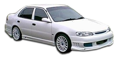 Brightt Duraflex ED-B-030 Bomber Body Kit - 4 Piece Body Kit - Compatible With Corolla 1998-2000