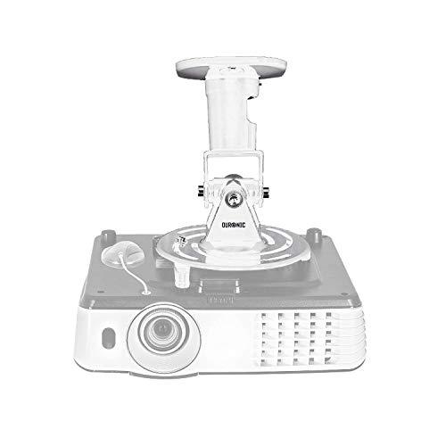 Duronic PB07XB Beamer Halterung | Projektor Halterung | Universal Wandhalterung | Halterung für Video-Projektor | drehbar und schwenkbar | Heimkino | Traglast bis zu 10 kg | 360° Rotation