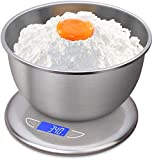 Balanza electrónica- Balanza de cocina digital multifuncional de Alimentos Escala electrónica de la escala y azul LED HD gancho de la exhibición Ocultos Diseño Con un peso máximo de 5 kg / 10Kg fácil