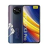 """POCO X3 Pro, Smartphone 8+256 GB, 6,67"""" 120 Hz FHD+ DotDisplay, Snapdragon 860, cámara cuádruple de 48 MP, 5160 mAh, Negro Fantasma (versión ES/PT), incluye auriculares"""