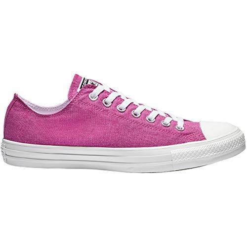 Converse Unisex-Erwachsene Chuck Taylor All Stars Sneaker, Pink (Active Fuchsia/White/White 000), 39.5 EU