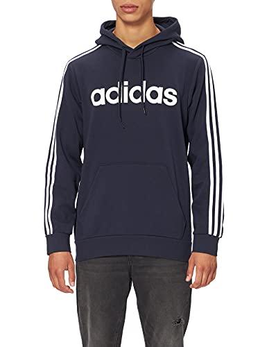 Adidas E 3S PO FL Sudadera con Capucha, Hombre, Azul(Legend Ink/White), XL