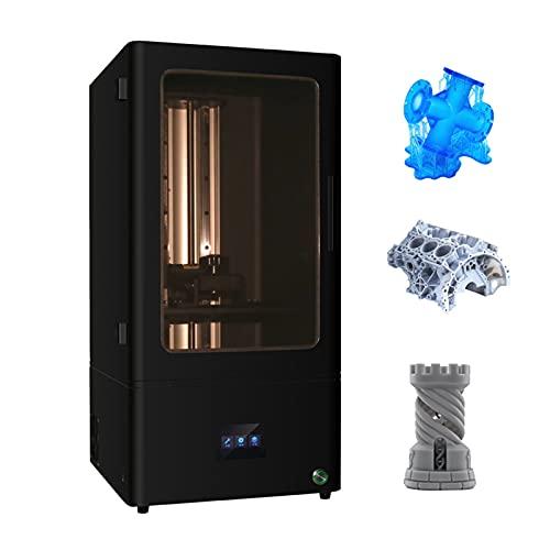 Jabey L1001 Impresora 3D UV Photocurado LCD Resina Impresora 3D de Alta precisión con 10.1 Pulgadas 2K Monocromo LCD Impresión Fuera de línea Filtro de Aire Volumen de construcción 8.5x5.3x11.6in
